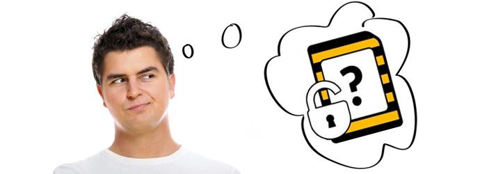 Разблокировка SIM-карты